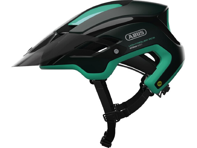 ABUS Montrailer ACE MIPS Cykelhjelm grøn/petroleumsgrøn